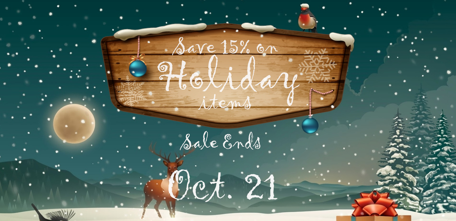 Christmas Farmhouse Decor on Sale - 15% Off