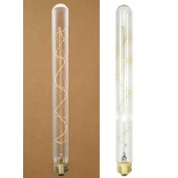 "40 Watt 10½"" Vintage Style Stick Bulb with Spiral Filament"