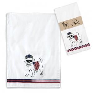 American Dog Tea Towel - Box of 4