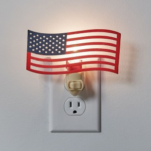 American Flag Night Light - Box of 4