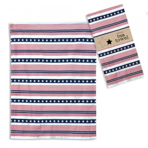 Americana Tea Towel - Box of 4