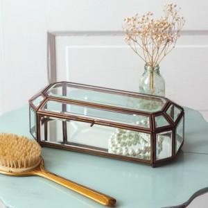 Antique Mirrored Trinket Box