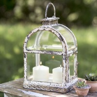 Arched Window Pane Lantern
