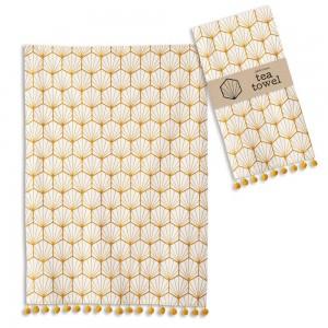 Art Deco Tea Towel - Box of 4
