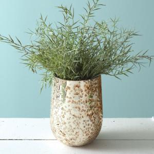 Aurelia Mercury Glass Vase