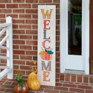 Autumn Welcome Porch Sign