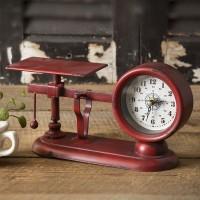 Balance Scale Clock