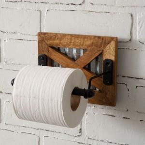 Barn Door Toilet Paper Holder