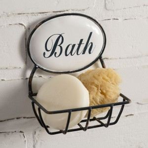 """Bath"" Time Soap Holder"