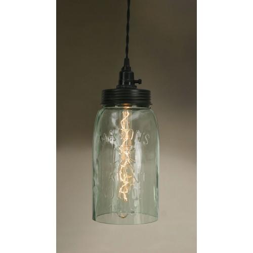 Big Mason Jar Pendant Light