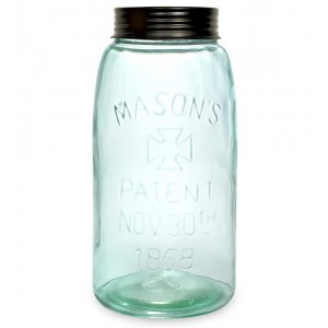 Big Mason Jar with Lid