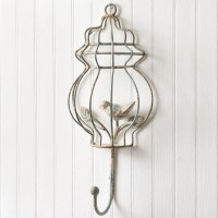 Bird Cage Wall Hook