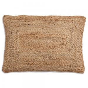 Bohemian Jute Handwoven Throw Pillow