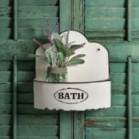 """Bowed """"Bath"""" Wall Caddy"""