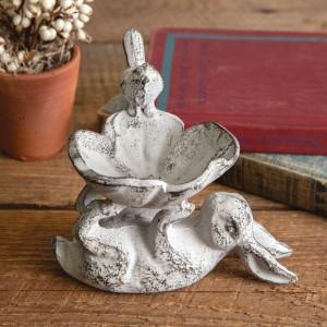 Bunny Birdfeeder Dish