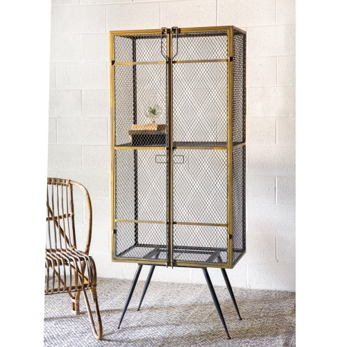 Mid-Century Modern Metal Cabinet