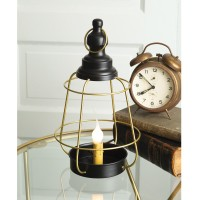 Caged Electric Candle Holder
