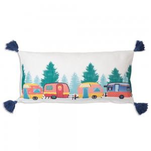 Camper Lumbar Pillow