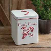 Candy Cane Storage Container