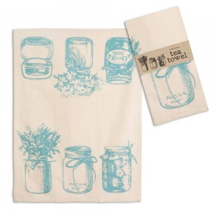 Canning Jars Tea Towel