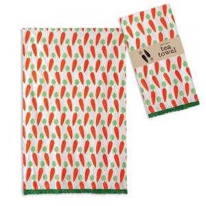 Carrots Tea Towel - Box of 4