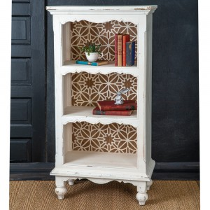 Carved Back Bookshelf