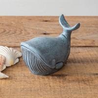 Cast Iron Whale Trinket Holder