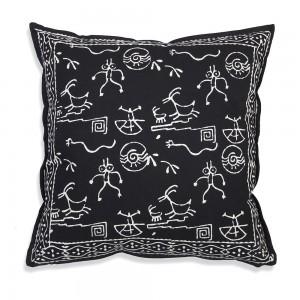 Chakra Cotton Throw Pillow