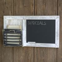 Chalkboard and Single Pocket Organizer