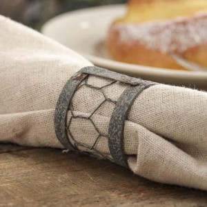 Chicken Wire Napkin Ring