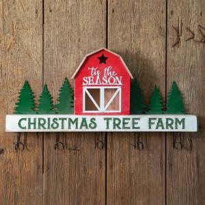 Christmas Tree Farm Wall Rack