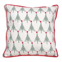 Christmas Trees Cotton Throw Pillow