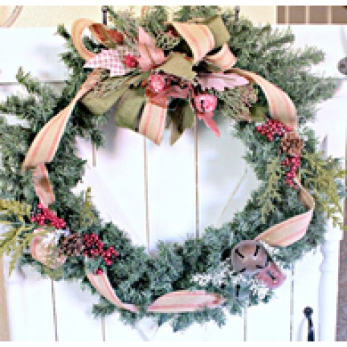 Christmas Wreath Vintage