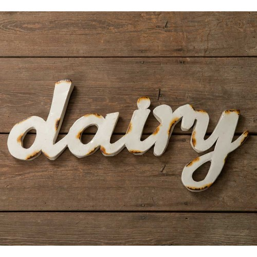 """""""Dairy"""" Wall Sign"""