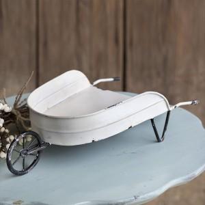 Decorative Tabletop Wheelbarrow