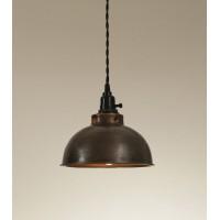 Dome Pendant Light - Aged Copper