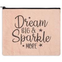 Dream Big & Sparkle More Travel Bag