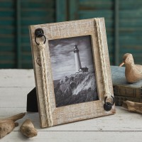 Driftwood And Jute Picture Frame