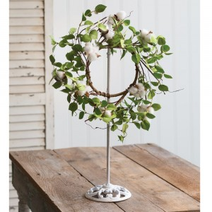 Extendable Farmhouse Wreath Holder