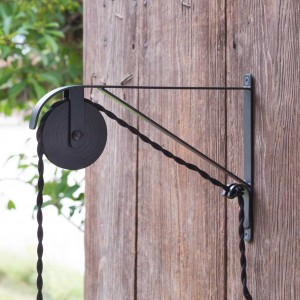 Extended Wall Mount Pulley