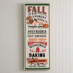 Fall Fun Wall Sign