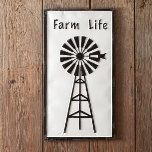 Farm Life Metal Wall Sign