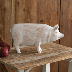 Farmhouse Tabletop Pig