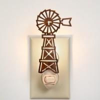 Farmhouse Windmill Night Light