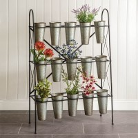 Fifteen Container Organizer Rack
