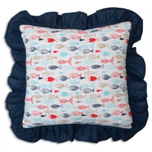 Fish in the Sea Throw Pillow