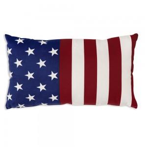 Flag Cotton Accent Pillow