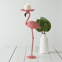 Flamingo Candle Holder