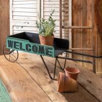 Welcome Wheelbarrow
