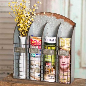 Four Pocket Nameplate Wall Caddy
